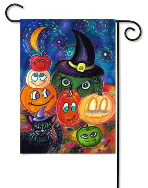 "Party Pumpkins Toland Garden Flag - 12.5"" x 18"""