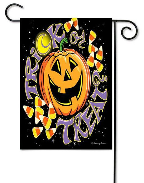 "Trick Or Treat Toland Garden Flag - 12.5"" x 18"""