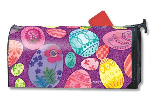 Easter Egg Mailwraps Mailbox Cover