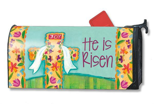 He is Risen Magnetic Mailbox Cover