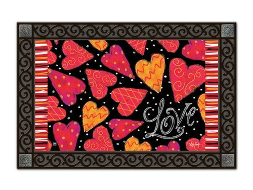 Love Hearts MatMates Doormat