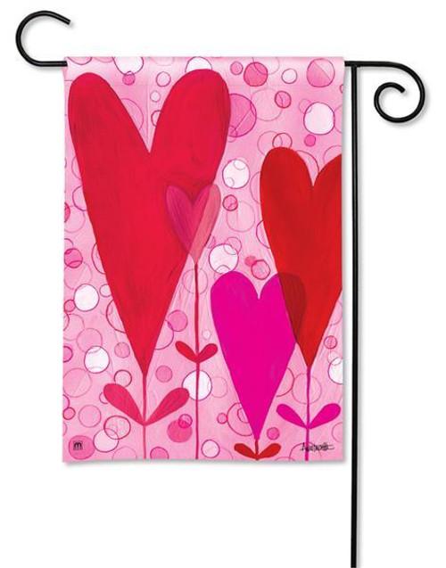 BreezeArt Valentine Garden Flag