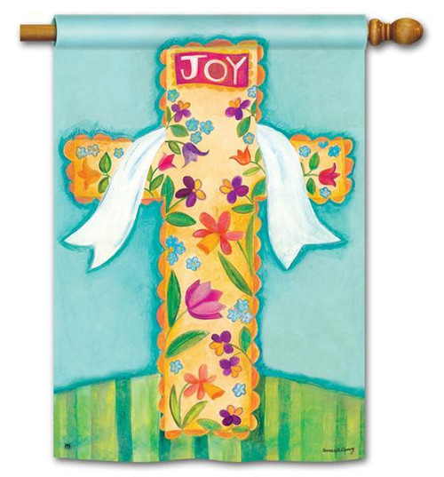 "He is Risen Easter House Flag 28"" x 40"""