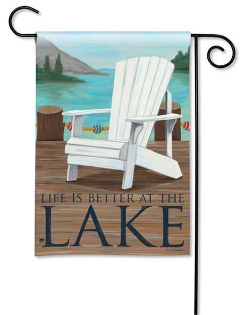 """Lake Life Garden Flag - 12.5"""" x 18"""""""