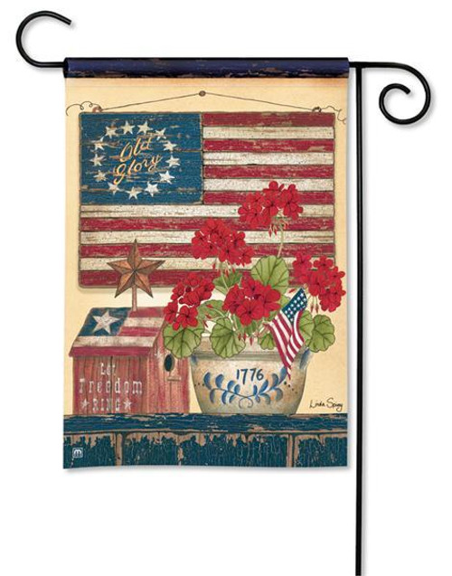 "Old Glory Patriotic Garden Flag - 12.5"" x 18"""