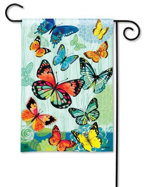 """Butterfly Flight Garden Flag - 12.5"""" x 18"""""""