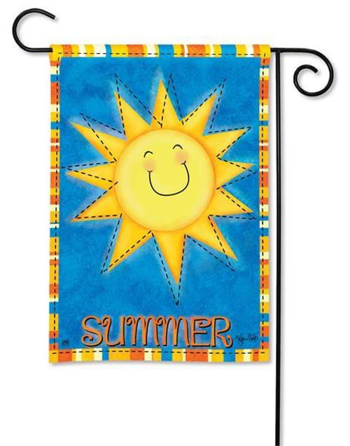 BreezeArt Summer Garden Flag