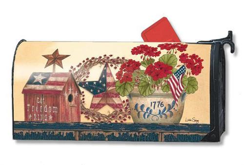 Patriotic Mailwraps Mailbox Cover
