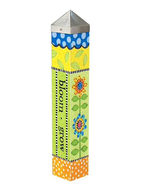 "Frolic Bloom Art Pole 20"" Tall - Studio M"
