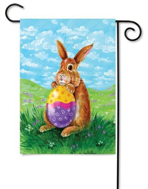 """Eggstatic Easter Garden Flag 12.5"""" x 18"""" - Toland"""