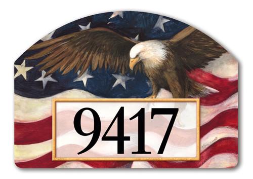 Patriotic Address Sign