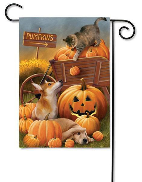 "Bombs Away Fall Garden Flag - 12.5"" x 18"" - Evergreen"