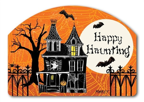 "Haunted House Yard DeSign Yard Sign - 14"" x 10"""