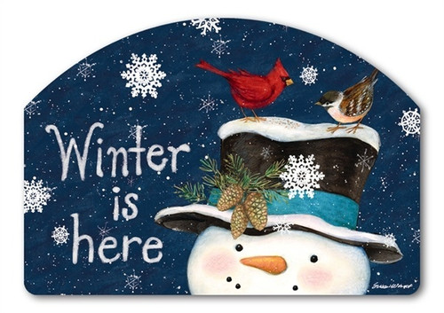 "Winter is Here Yard DeSign Yard Sign - 14"" x 10"""