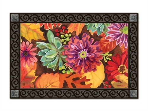 "Autumn Jazz MatMates Doormat - 18"" x 30"""
