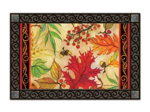 "Blaze of Glory MatMates Doormat - 18"" x 30"""