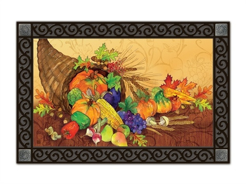 "Bountiful Harvest MatMates Doormat - 18"" x 30"""