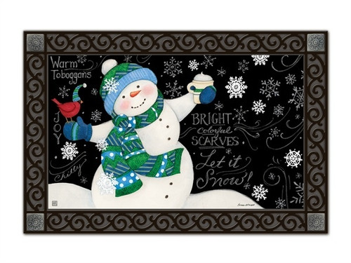 "Frosty Fun MatMates Doormat - 18"" x 30"""