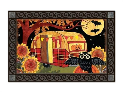 """Halloween Camper MatMates Doormat - 18"""" x 30"""""""