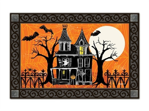 "Haunted House MatMates Doormat - 18"" x 30"""