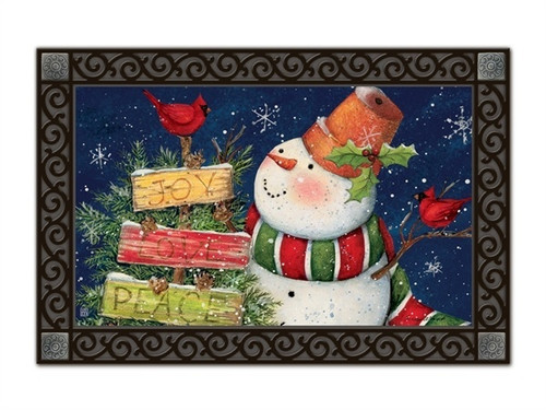 "Signs of Christmas MatMates Doormat - 18"" x 30"""