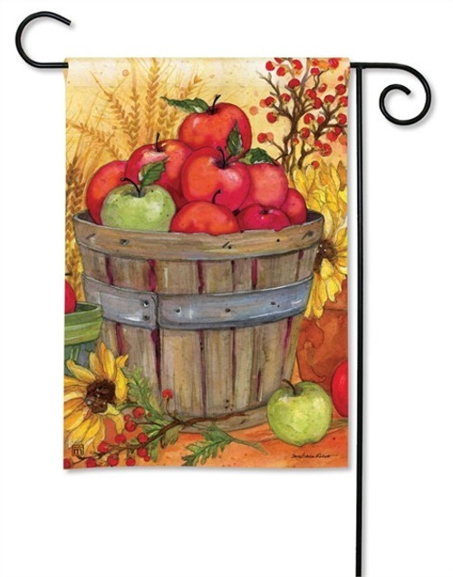 "Bushel of Apples Garden Flag - 12.5"" x 18"" - BreezeArt"