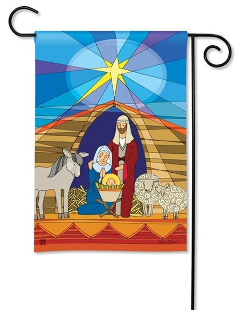 BreezeArt Christmas Garden Flag
