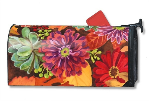 Autumn Jazz Magnetic Mailbox Cover
