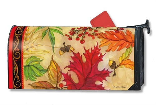 Blaze of Glory Magnetic Mailbox Cover