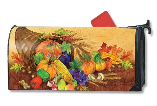 Bountiful Harvest Magnetic Mailbox Cover