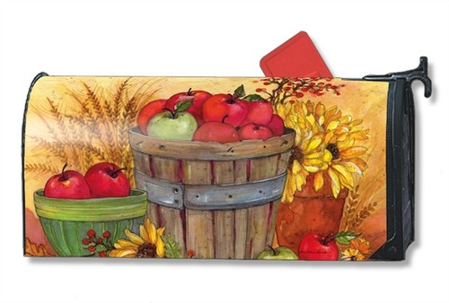 Bushel of Apples Magnetic Mailbox Cover