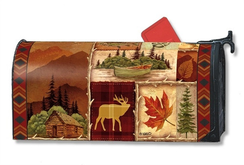 Cabin Fever Magnetic Mailbox Cover