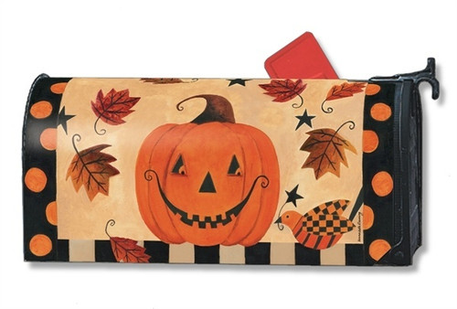 Country Pumpkin Magnetic Mailbox Cover