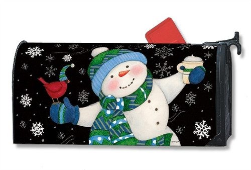 Frosty Fun Magnetic Mailbox Cover