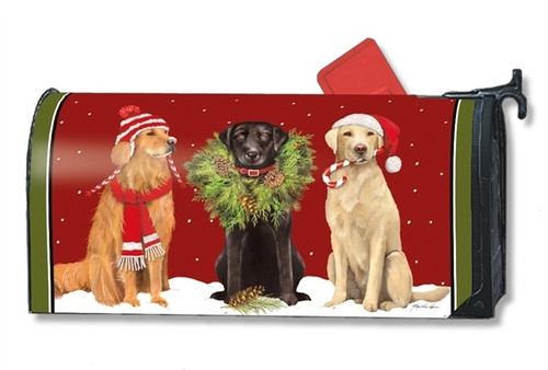 Santa's Helper Magnetic Mailbox Cover