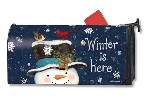 Winter is Here Magnetic Mailbox Cover