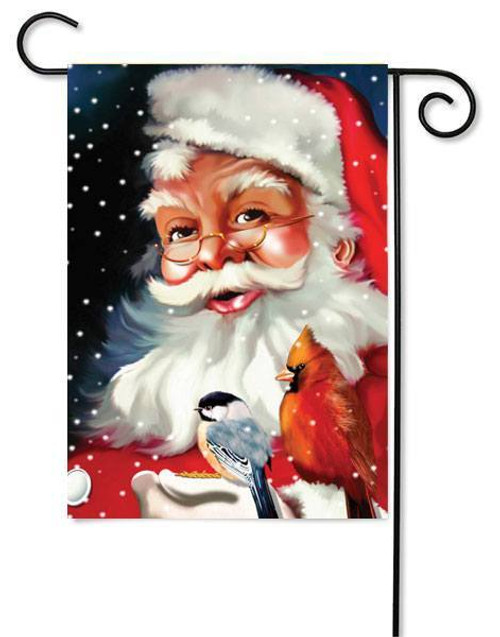 "Santa's Little Friends Garden Flag - 12.5"" x 18"""