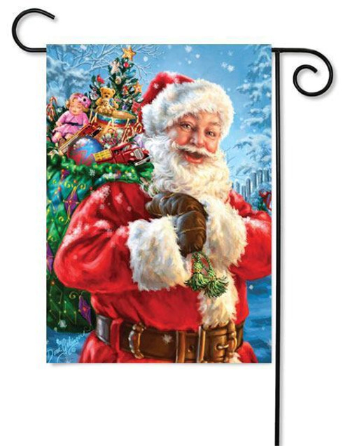 "Santa's Magic Bag Garden Flag - 12.5"" x 18"""