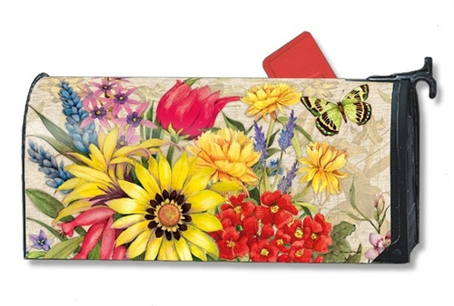 Botanical Garden Magnetic Mailbox Cover