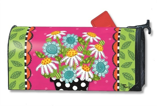 Frolic Flowers Magnetic Mailbox Cover