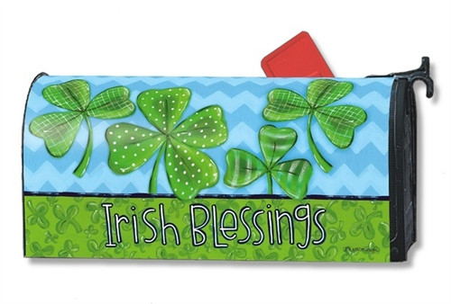 Irish Blessings Magnetic Mailbox Cover