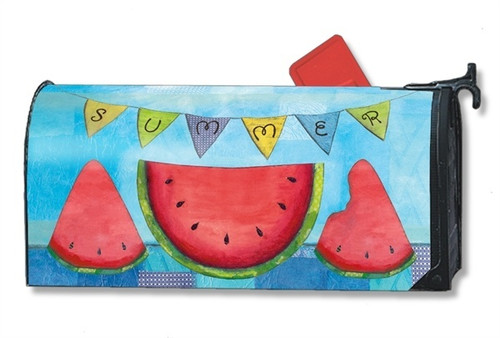 Summer Slice Magnetic Mailbox Cover
