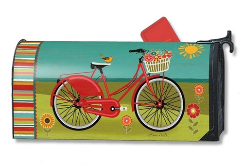 Summer Ride Magnetic Mailbox Cover
