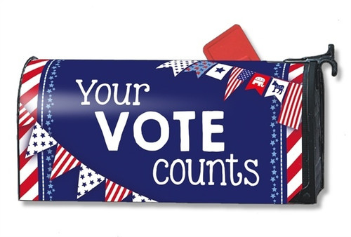 Your Vote Counts Magnetic Mailbox Cover
