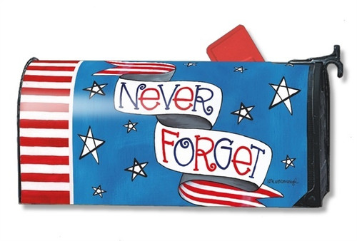 Patriotic Tribute Magnetic Mailbox Cover