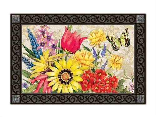 "Botanical Garden MatMates Doormat - 18"" x 30"""