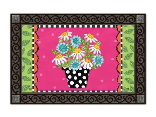 """Frolic Flowers MatMates Doormat - 18"""" x 30"""""""
