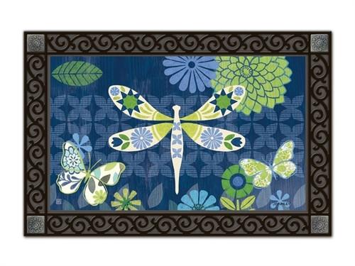 """Capistrano Dragonfly MatMates Doormat - 18"""" x 30"""""""