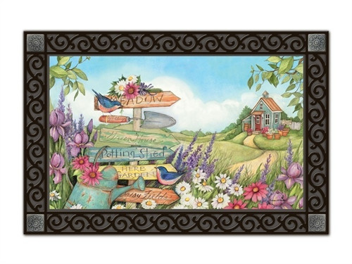 "Signs of Summer MatMates Doormat - 18"" x 30"""