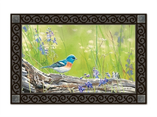 "Meadow Bluebird MatMates Doormat - 18"" x 30"""